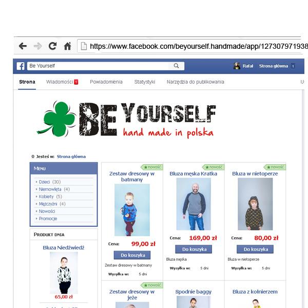 Sklep w Facebook