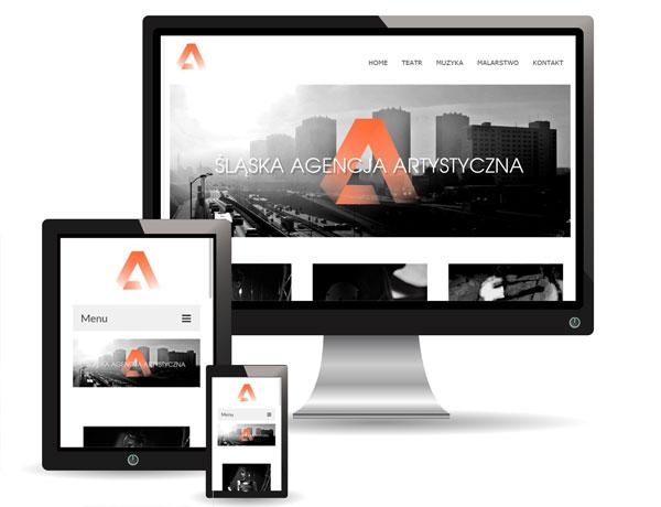 Strona Śląskiej Agencji Artystycznej